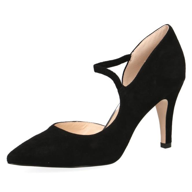 095c9a0d4532 Čierna dámska obuv spoločenská na vysokom podpätku značky Caprice ...