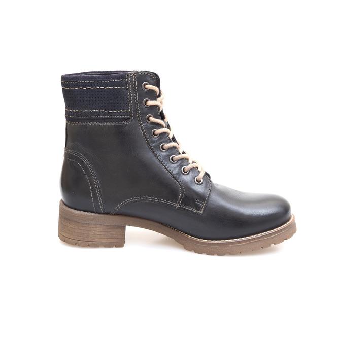 0769a9e70f7 Čierna dámska šnurovacia obuv značky Klondike Čierna dámska šnurovacia obuv  značky Klondike Výpredaj