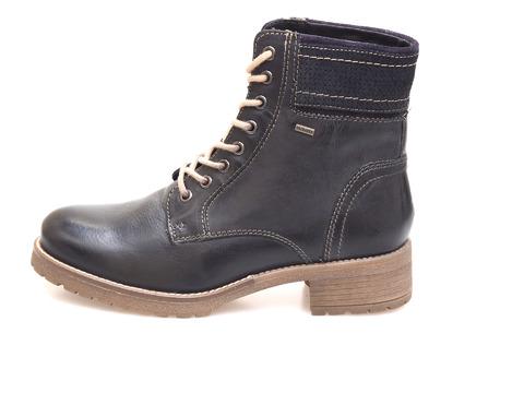 55e1d633f9e5 Soňa - Dámska obuv - Kotníčky - Čierna dámska šnurovacia obuv značky  Klondike