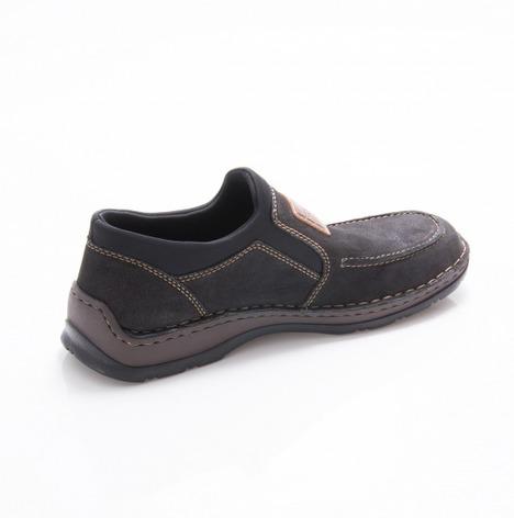 baa63c3bb4f3 Soňa - Pánska obuv - Mokasíny - Čierna pánska mokasína značky Rieker