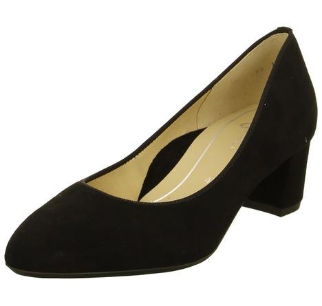 e490f5a4c0 Soňa - Dámska obuv - Lodičky - Čierne dámske lodičky na nízkom podpätku Ara