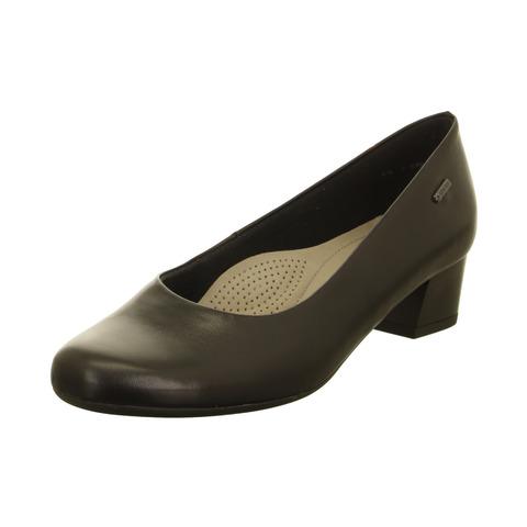 df5357bf9f Soňa - Dámska obuv - Lodičky - Čierne dámske lodičky na nízkom podpätku  značky Ara