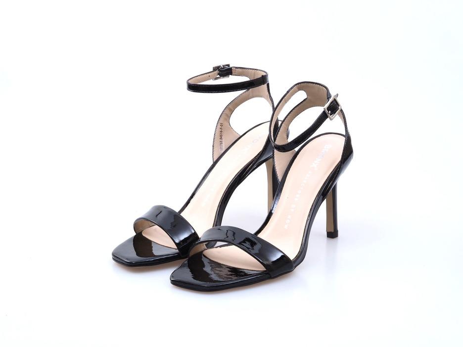 f4b36e19f28ef Soňa - Dámska obuv - Spoločenská obuv - Čierne dámske lodičky na vysokom  podpätku Bronx