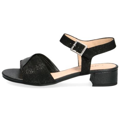 8f804f6753c42 Soňa - Dámska obuv - Sandále - Čierne dámske otvorené sandále na ...