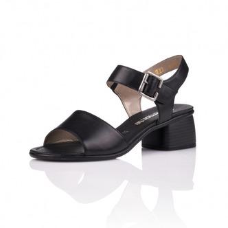 60cf3e18a3 ... Čierne dámske otvorené sandále Remonte - Rieker ...