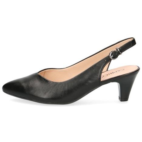 bb0d3c2674113 Soňa - Dámska obuv - Sandále - Čierne dámske sandále na nízkom ...