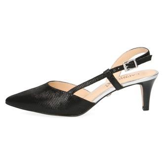 a79167e6df37 ... Čierne dámske sandále na vysokom podpätku značky Caprice Nová kolekcia  Popis28