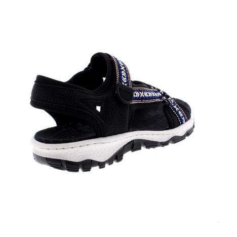 60e51820e2 Soňa - Dámska obuv - Sandále - Čierne dámske športové sandále na ...