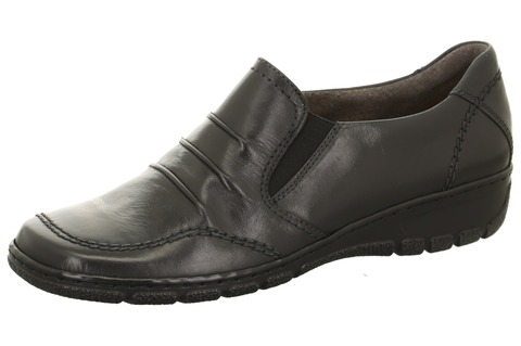 3e26e1b840e4 Soňa - Dámska obuv - Poltopánky - Čierne kožené členkové topánky Jenny by  Ara