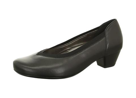 dff8913c087a Soňa - Dámska obuv - Lodičky - Čierne kožené lodičky Ara na nízkom podpädku