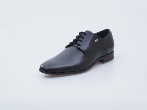 895565796d5d Soňa - Pánska obuv - Poltopánky - Čierne kožené topánky na šnurovanie  Bugatti