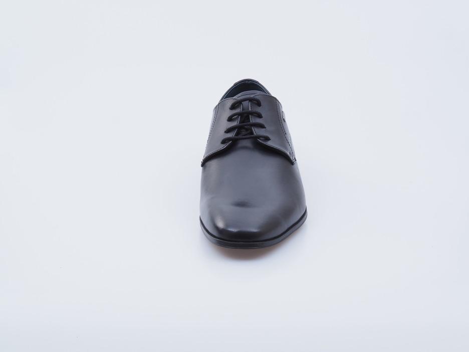 cb8549c06475 Soňa - Pánska obuv - Poltopánky - Čierne kožené topánky na ...