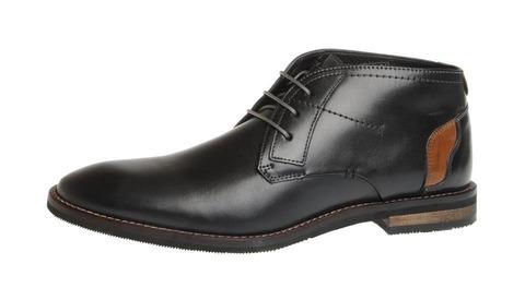 84d502b6f34d Soňa - Pánska obuv - Zimná - Čierne kožené topánky Salamander