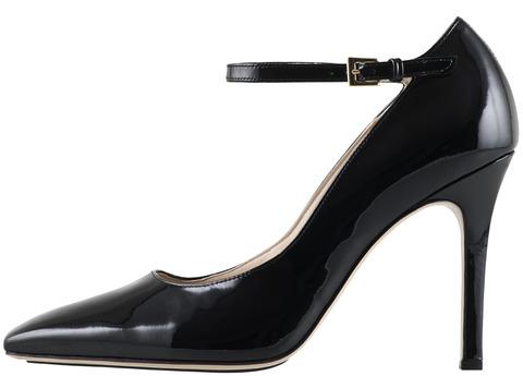 b4619c15c602 Soňa - Dámska obuv - Lodičky - Čierne lakované kožené lodičky Högl s  ozdobným zapínaním na člen
