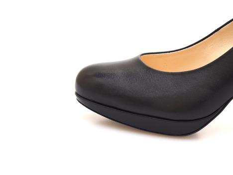 ee1707151407 Soňa - Dámska obuv - Spoločenská obuv - Čierne spoločenské lodičky Högl