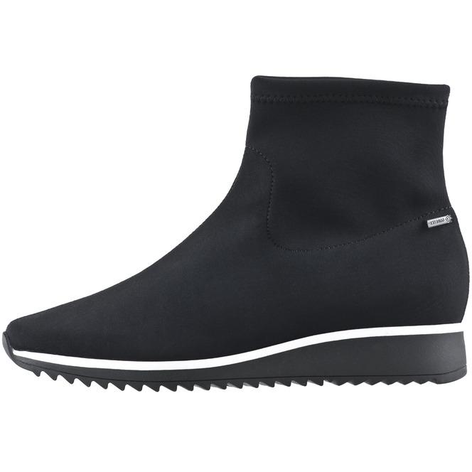 f54a0f7c82cd Čierne textilné členkové topánky Högl ...