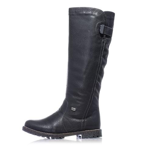 6d26c4b0b1c5b Soňa - Dámska obuv - Čižmy - Čierne zateplené čižmy Rieker
