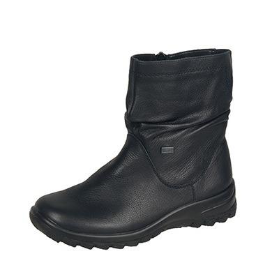 a748847510 Soňa - Dámska obuv - Čižmy - Čierne zateplené čižmy Rieker na nízkom ...