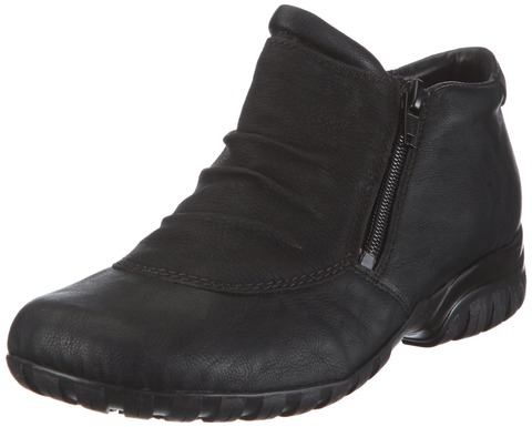 6732daf895 Soňa - Dámska obuv - Kotníčky - Čierne zateplené členkové topánky Rieker