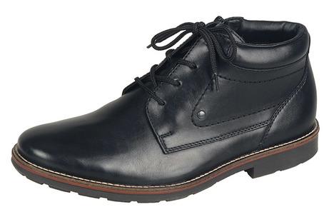 8300f0c3ff Soňa - Pánska obuv - Zimná - Čierne zateplené šnurovacie topánky Rieker