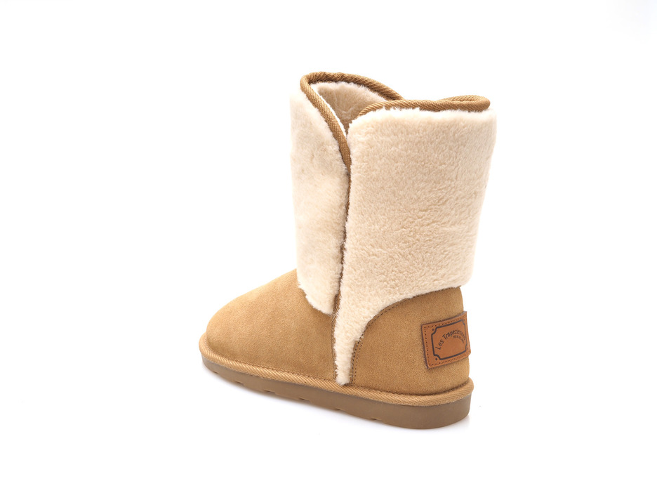 7b9b2d09a6c7 Soňa - Dámska obuv - Čižmy - Dámska čižma stredne vysoká zateplená na  nízkom podpätku značky Les Tropeziennes