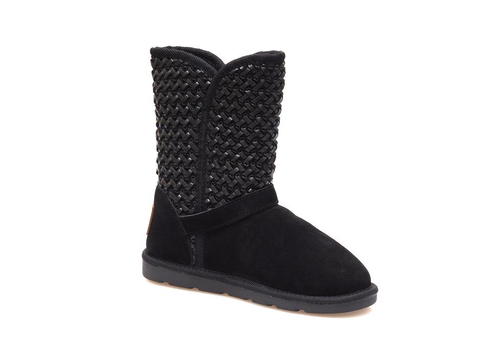 a5f9f8cb80 Soňa - Dámska obuv - Čižmy - Dámska čižma stredne vysoká zateplená na  nízkom podpätku značky Les Tropeziennes