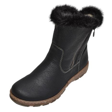 4e12aa6a34ccf Soňa - Dámska obuv - Čižmy - Dámska čižma stredne vysoká zateplená značky  Rieker