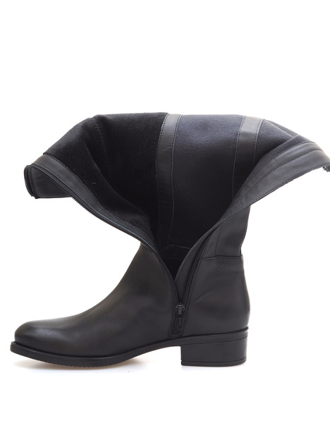 af31559927 Soňa - Dámska obuv - Čižmy - Dámska čižma vysoká zateplená na nízkom  podpätku značky Salamander