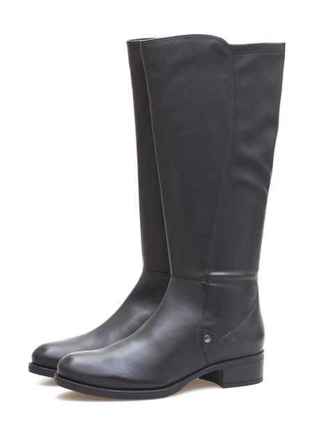 82097028c7eb Soňa - Dámska obuv - Čižmy - Dámska čižma vysoká zateplená na nízkom  podpätku značky Salamander