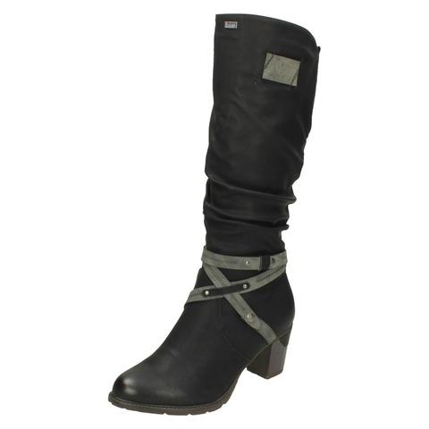 eefba57a061dc Soňa - Dámska obuv - Čižmy - Dámska čižma vysoká zateplená značky Rieker