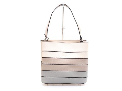 408ebb242 Soňa - Dámska - Dámske kabelky - Dámska kabelka do ruky značky Pepe Moll farba  biela káva