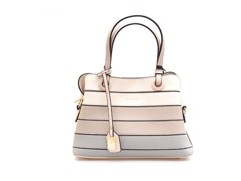 de4bfb1749 Soňa - Dámska - Dámske kabelky - Dámska kabelka do ruky značky Pepe Moll  farba biela káva