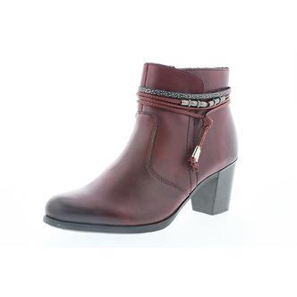 90ab3c1aaf46 Dámska obuv členkova (kotníková) zateplená na vysokom podpätku značky Rieker  ...
