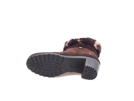 fbc5ac6e2ed8c Soňa - Dámska obuv - Kotníčky - Dámska obuv členková zateplená na vysokom podpätku  značky Salamander