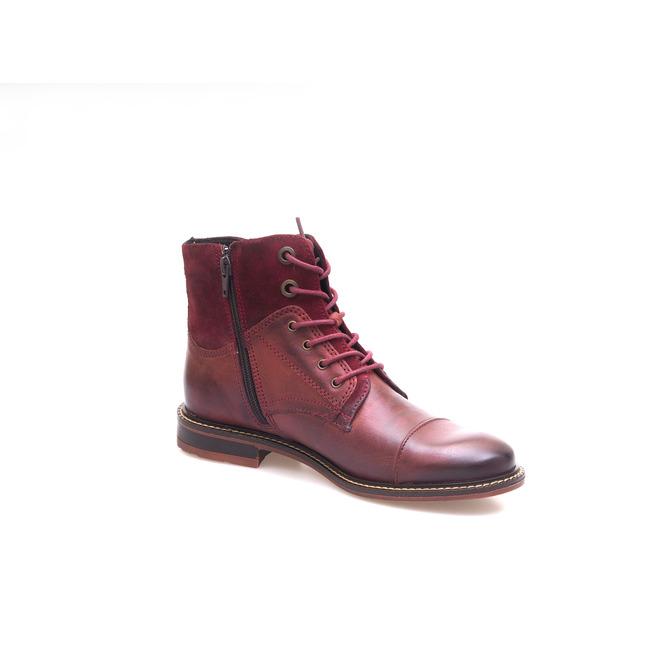 2e764a18ca Dámska obuv šnurovacia zateplená - bordová Dámska obuv šnurovacia zateplená  - bordová Výpredaj