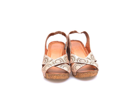 b738fded9c7d Soňa - Dámska obuv - Sandále - Dámska otvorená sandála na klinovom podpätku  Karyoka