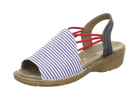 364ccf96a6bc Soňa - Dámska obuv - Sandále - Dámska otvorená sandála v námorníckom štýle