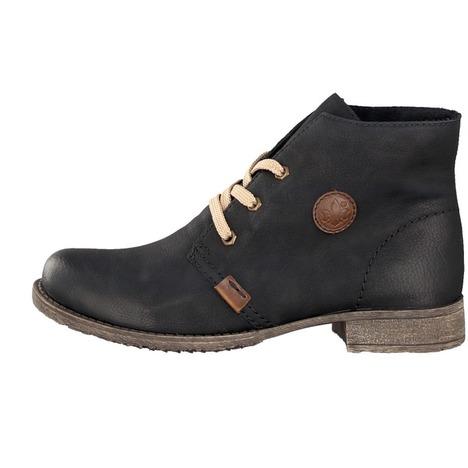 c347ff49ec16 Soňa - Dámska obuv - Kotníčky - Dámska šnurovacia obuv čierna značky ...
