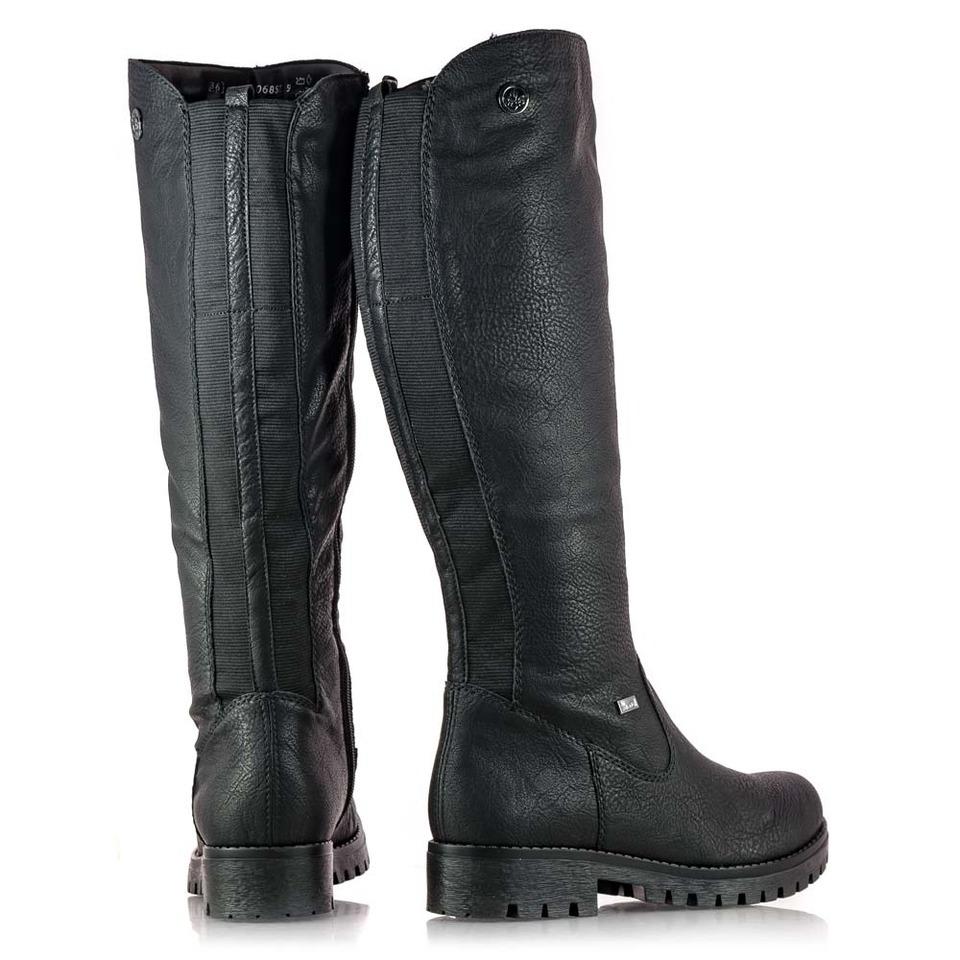 91606dcc9 Soňa - Dámska obuv - Čižmy - Dámska vysoká zateplená čižmy značky Rieker