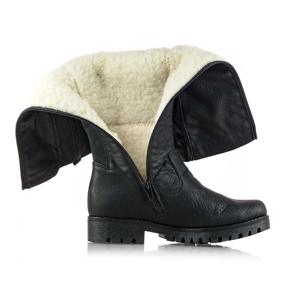 ba0d6a116727 Soňa - Dámska obuv - Čižmy - Dámska vysoká zateplená čižmy značky Rieker