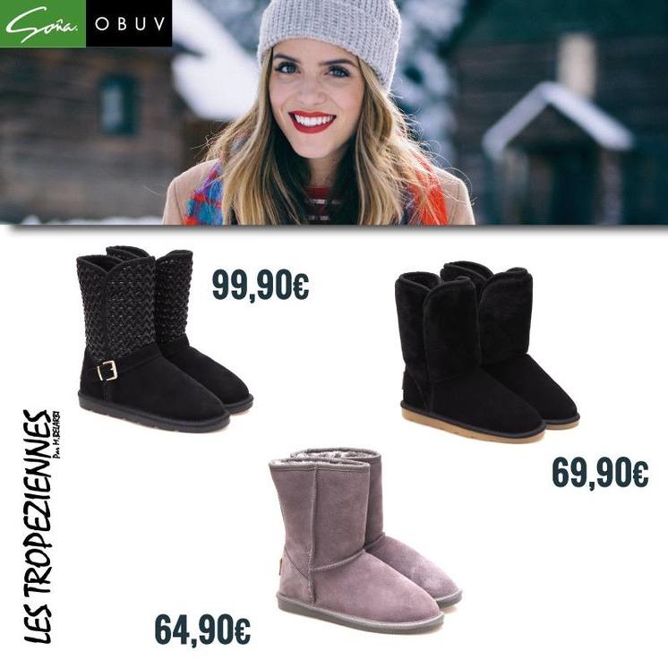 6293930d35ab Dámska zimná obuv Les Tropeziennes v obuvi Soňa
