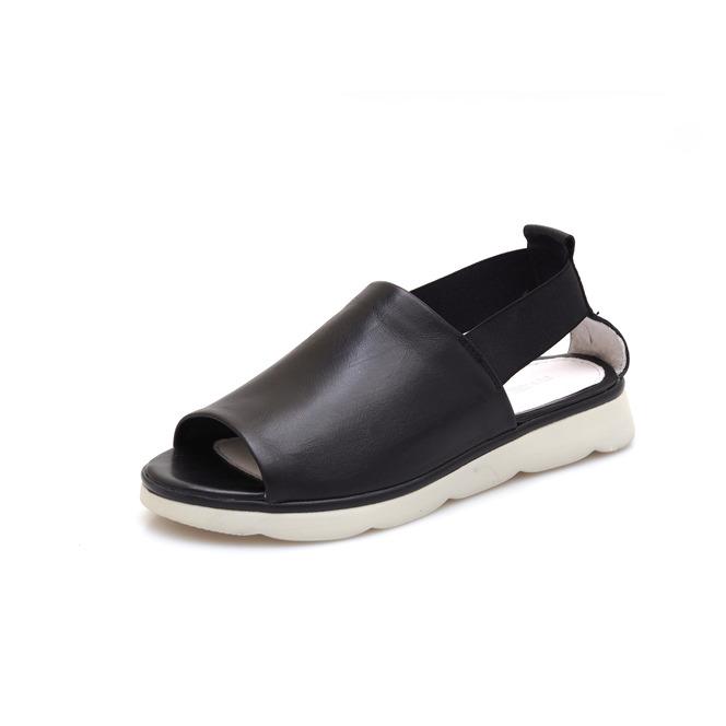 4b9f200ae5b5 Dámske otvorené sandále na nízkom podpätku Rizzoli - čierne ...