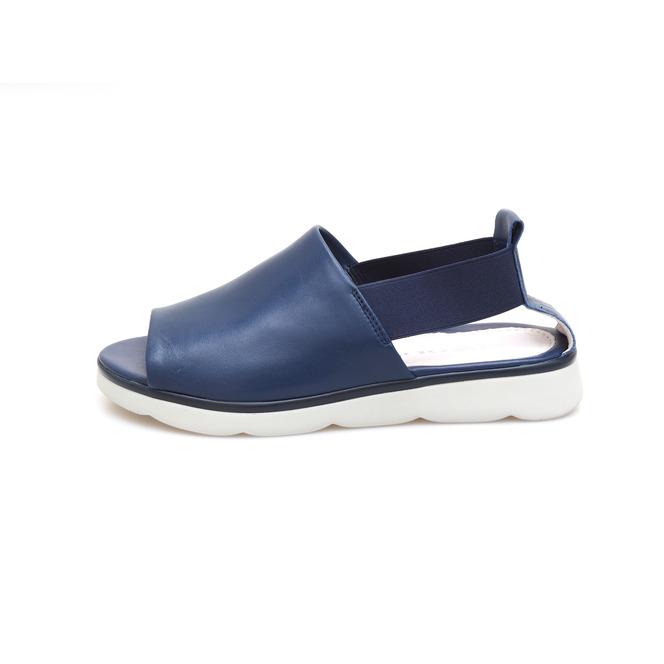 51b2af3d4c1f ... Dámske otvorené sandále na nízkom podpätku Rizzoli - modré ...
