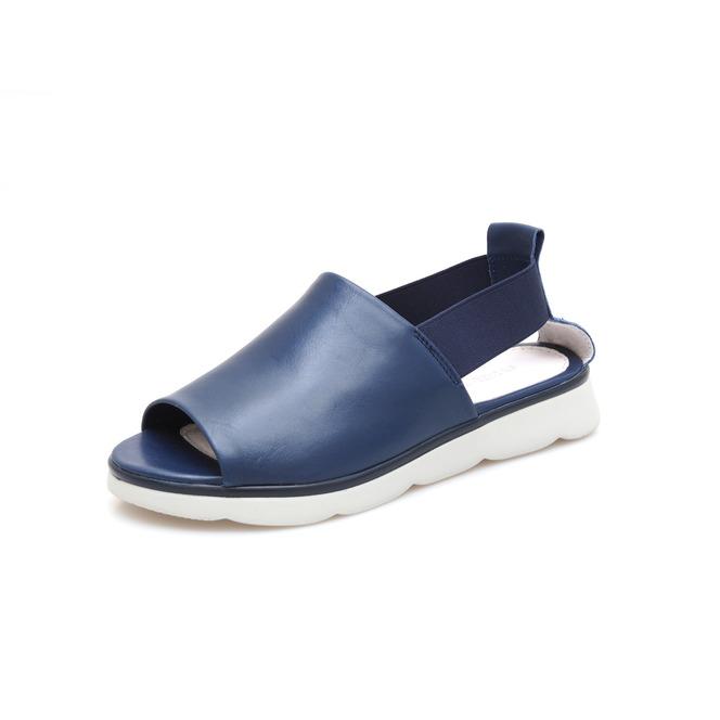 13e448fcde Dámske otvorené sandále na nízkom podpätku Rizzoli - modré ...
