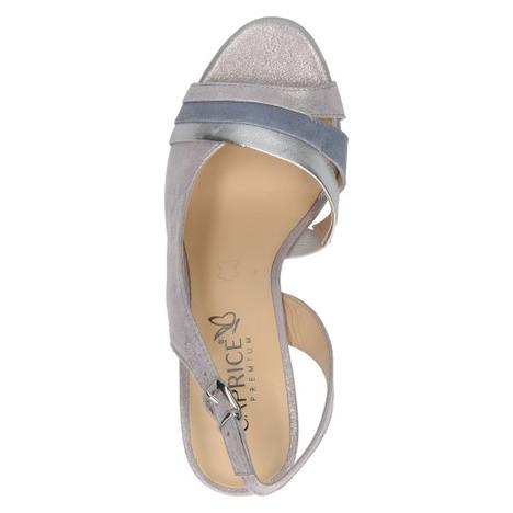 175bb50642c6c Soňa - Dámska obuv - Sandále - Dámske otvorené sandále na vysokom podpätku  značky Caprice farba ružová