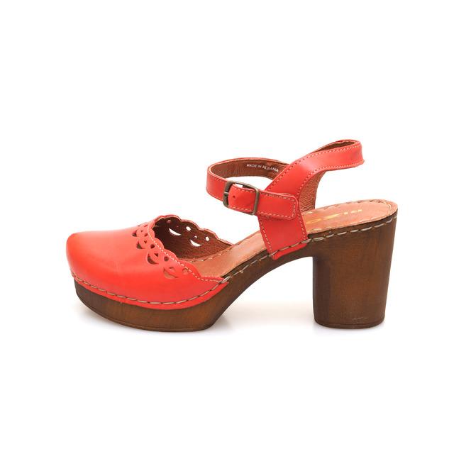 93e0effcb2db ... Dámske uzatvorené sandále na vysokom podpätku Rizzoli - ružové ...