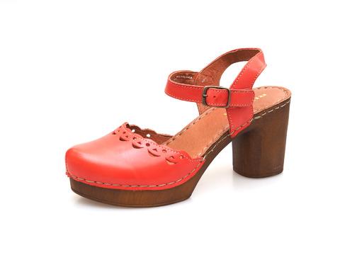 28c92cdadc290 Soňa - Dámska obuv - Sandále - Dámske uzatvorené sandále na vysokom podpätku  Rizzoli - ružové