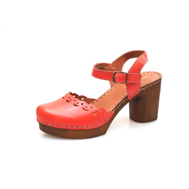 ba9ada31b1f6 Dámske uzatvorené sandále na vysokom podpätku Rizzoli - ružové ...
