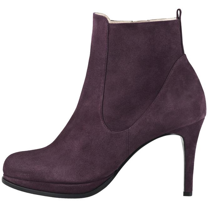 a46158858c59 Fialové kotníkové topánky Högl na vysokom podpätku Výpredaj Posledn
