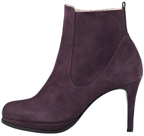 22cad6b191 Soňa - Dámska obuv - Kotníčky - Fialové kotníkové topánky Högl na vysokom  podpätku